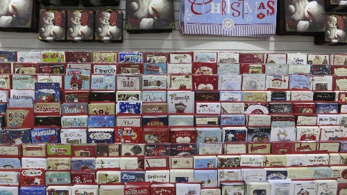 Christmas cards, made easy