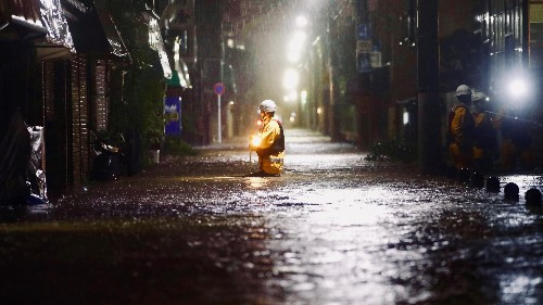 Super Typhoon Hagibis hits Japan, millions evacuated