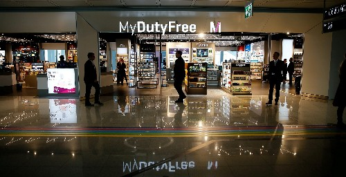 People aren't spending at duty-free stores like they used to