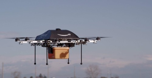 Amazon drones won't replace the mailman or FedEx woman any time soon