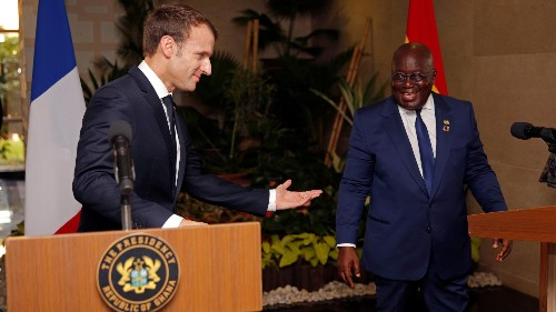 A speech by Ghana's president calling for Africa to end its dependency on the West is a viral hit