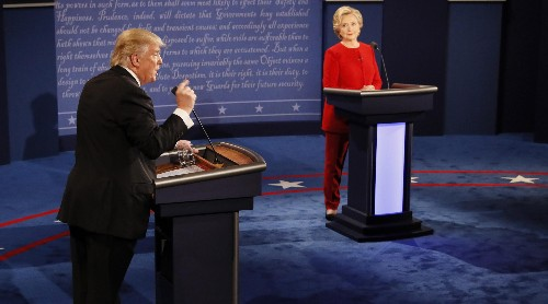 The first US presidential debate will be shown in gender studies classes for years to come