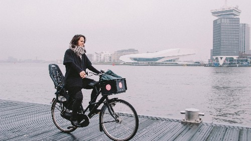 Amsterdam's bicycle mayor thinks cycling could save the world