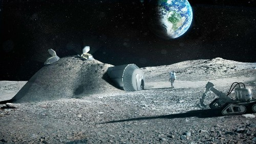 Russia and Europe are working together to plan a permanent base on the moon