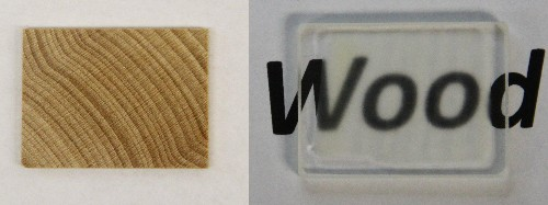 Scientists have found a way to make wood transparent