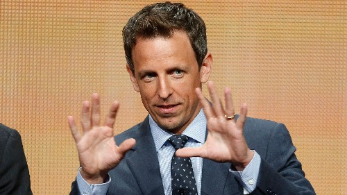 """Seth Meyers perfectly summarizes what parents need to do for """"children"""" in their 20s"""