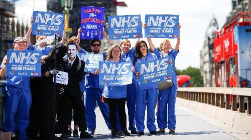 Britain's NHS posts worst waiting-time performance on record