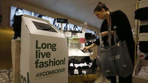 Greenpeace takes aim at clothes recycling for doing next to nothing to reduce fashion's environmental footprint.