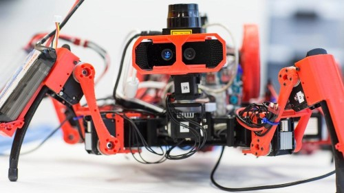 Siemens is building a swarm of robot spiders to 3D-print objects together