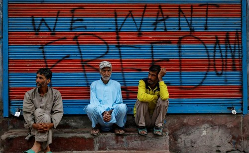 Imagine the Indian lockdown without the internet and phones. Now think Kashmir