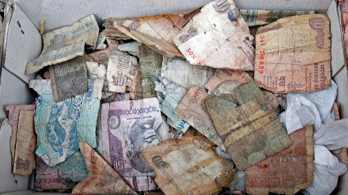 The Indian rupee's prospects just got a whole lot worse