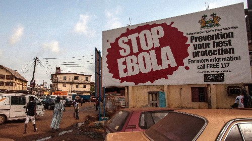Ebola resurgences in West Africa suggest the virus can linger longer than expected