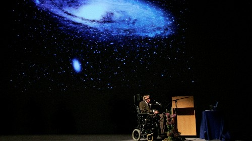 Listen to the ethereal space-inspired music from Stephen Hawking's funeral