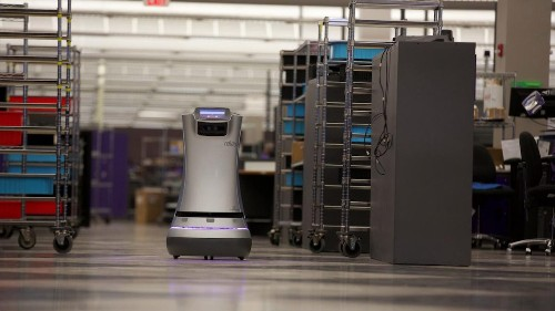 Fedex is using autonomous robots to essentially replace the mailroom clerk