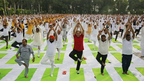 International Yoga Day: The science behind why yoga makes us happy