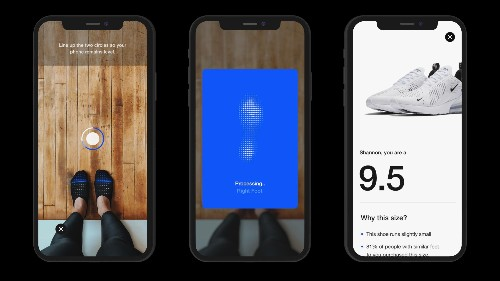 Nike Fit is Nike's new tech to ensure correct sneaker size