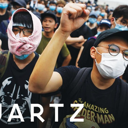 Not even the Hong Kong protests can get past Chinese censors