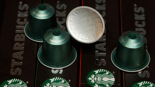 Nestlé's bet on selling Starbucks coffee is paying off