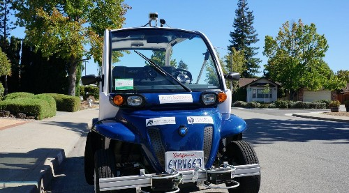Ditch the bus: Self-driving electric golf carts are ferrying students on university campuses