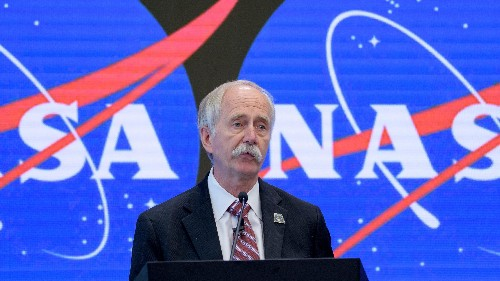 NASA fires top official over moon 2024