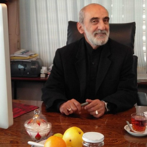 Iran's most famous scribe keeps the flame of the Revolution—and of hatred against the Great Satan