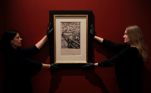 "The figure in Edvard Munch's ""The Scream"" isn't actually screaming"