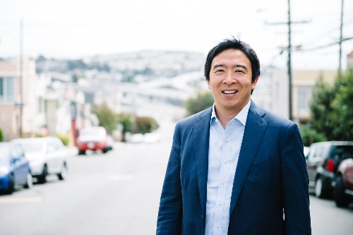 What presidential hopeful Andrew Yang gets right—and wrong—about blockchain