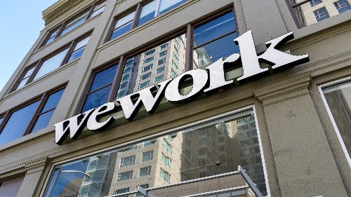 WeWork is running out of cash