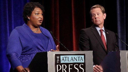 Brian Kemp has resigned as Georgia's secretary of state