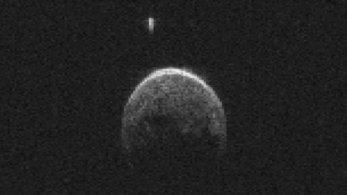 The asteroid that flew by Earth yesterday has its own moon