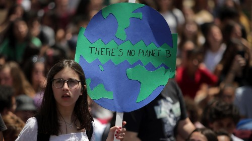 The huge youth climate strike is about courage, not hope