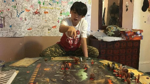 I hired someone to teach my kids how to play board games