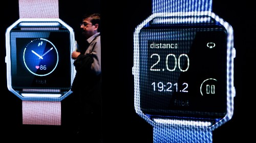 Fitbit had a great quarter, but Wall Street doesn't care because it's not the Apple Watch