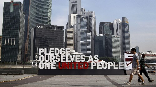 To preserve social harmony, Singapore has racial requirements for its next president