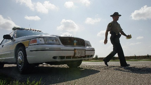 Police officers are significantly more likely to give white people breaks on speeding tickets