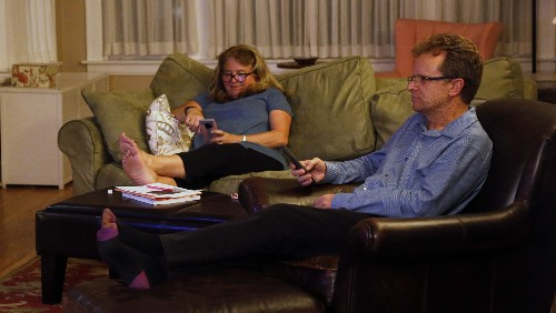 Most Americans are on their phone or tablet while watching TV