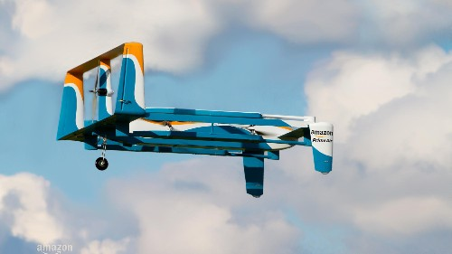 Amazon wants to use its new drones to deliver your packages—as long as you have a big lawn