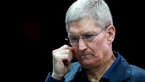 The flop of the latest iPhone cost Apple CEO Tim Cook $1.5 million in pay