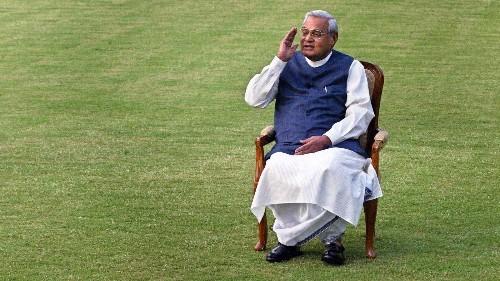 Atal Bihari Vajpayee, India's former prime minister, dies