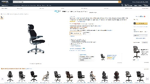 This ordinary desk chair costs $1 million on Amazon (AMZN)