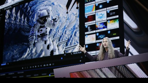 """Known to fans as """"Adobe Jesus,"""" technology evangelist Jason Levine takes software training to a higher level"""