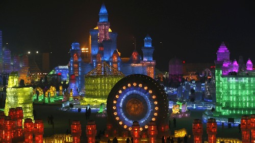 Photos of the epic Harbin ice and snow festival that's about to start