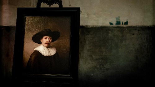 """A """"new"""" work by Rembrandt has been created by algorithms and 3D-printed"""