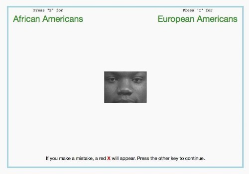 The Implicit Association Test for implicit bias: Tests results help people feel morally superior