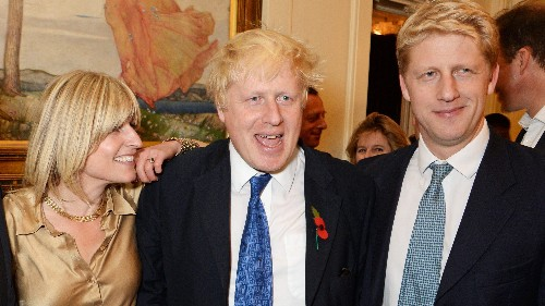 In the UK, Boris Johnson's family is falling apart over Brexit