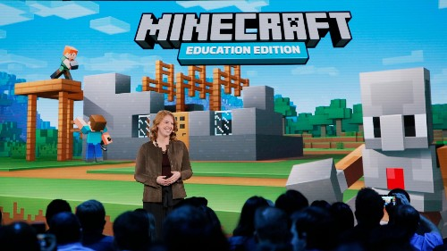 Microsoft is bringing Minecraft: Education Edition to the iPad