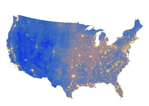 Mapped: These are the quietest spots in America