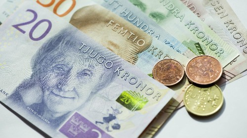 Sweden's cash in circulation increased for the first time since 2007