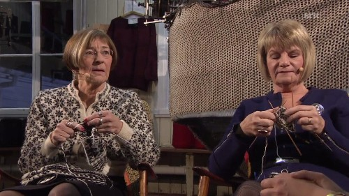 Netflix's newest show for binge-watching is a real-time knitting marathon