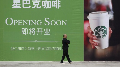 Starbucks has opened its first shop on the Tibetan Plateau—and another around the corner